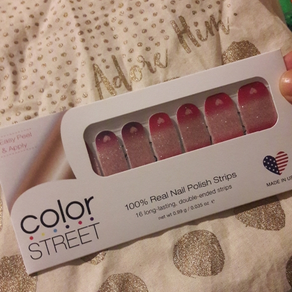Color Street Other - 2/$20 color street nails work of fine heart ombre
